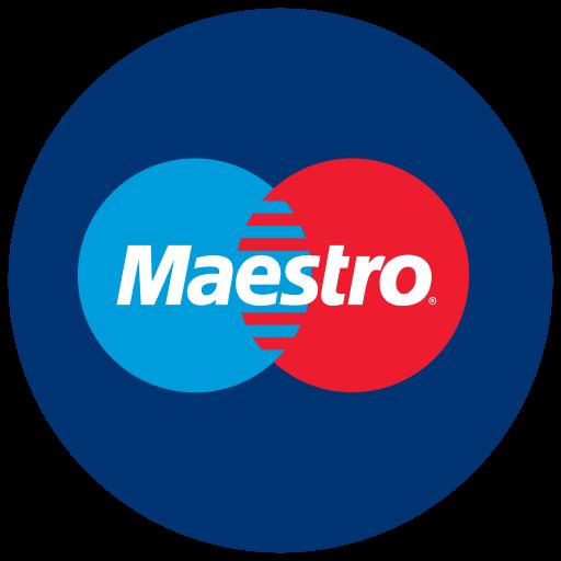 finance, logo, maestro, method, payment icon