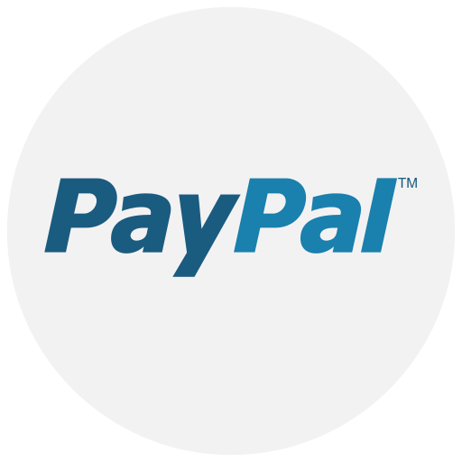 finance, logo, method, payment, paypal icon