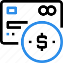 bank, banking, card, coin, credit, pay, payment icon