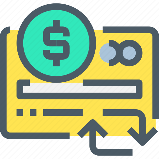 arrow, banking, card, credit, money, payment, shopping icon
