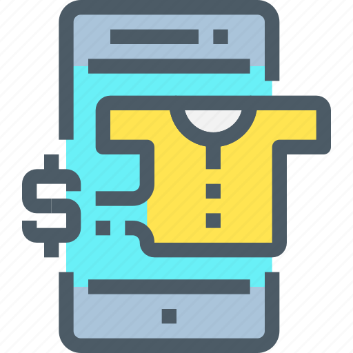 banking, online, pay, payment, shopping, smartphone icon