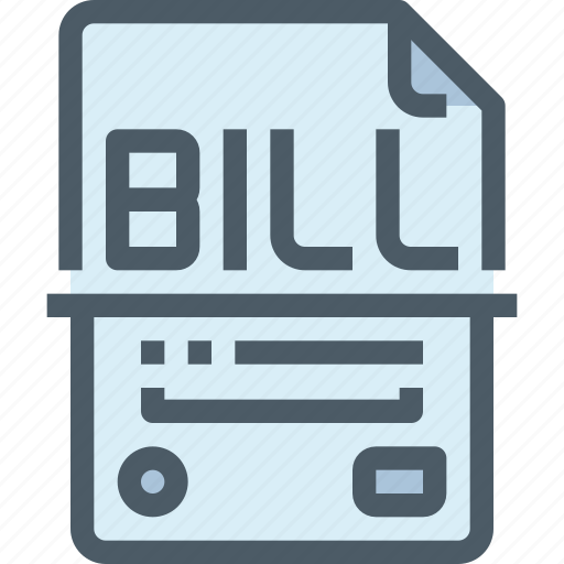 banking, bill, finance, payment, shop, shopping icon