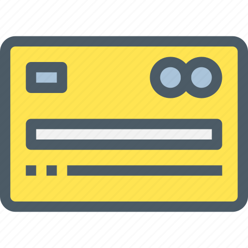 Finance, business, credit, bank, payment, card icon