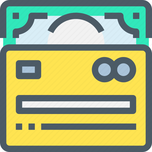 Shopping, exchange, money, credit, card, payment, bank icon