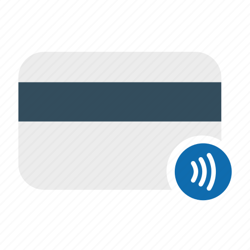 contactless payment, credit card, debit card, online payment icon
