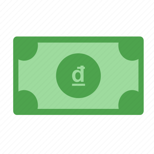 cash, currency, dong, money, pay, payment, vietnam dong icon