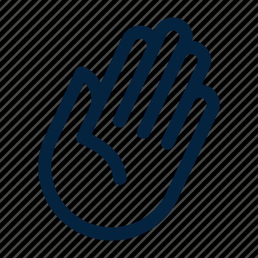 greetings, hand, hello, hi, waive icon