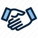 agreement, business, deal, handshake, meeting, promise icon
