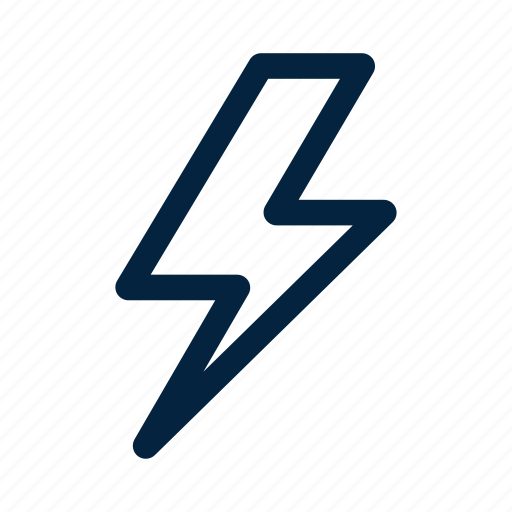 bolt, electricity, energy, lightning, thunder, thunderbolt, weather icon