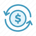 finance, money, payments, wolrd icon