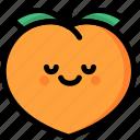 emoji, emotion, expression, face, feeling, peace, peach