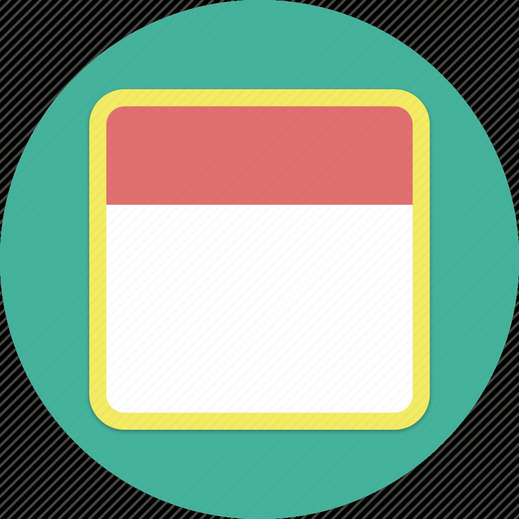 calendar, month, plan, time icon