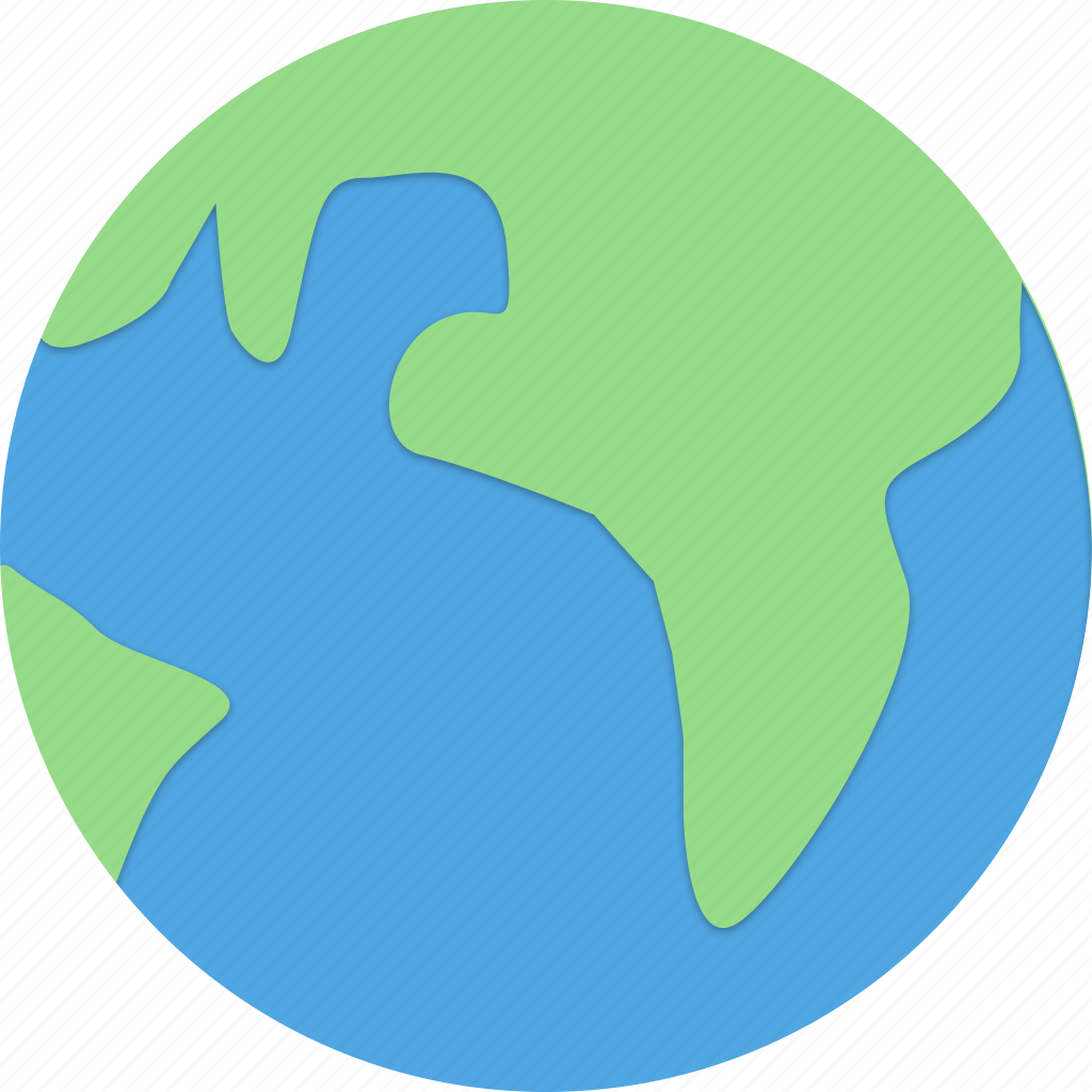 Internet, earth, land, ocean icon - Download on Iconfinder