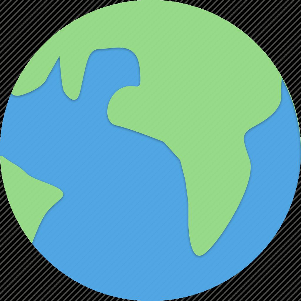 earth, internet, land, ocean icon