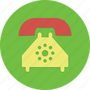 call, old phone, phone, rotary phone icon
