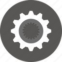 control, gears, preference, settings, system, tools, wrench icon