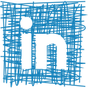 linkedin, media, pen, sketch, social icon
