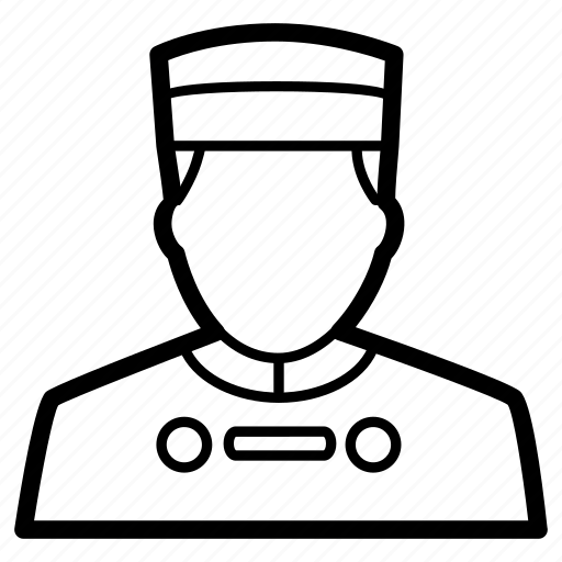 Avatar, bellboy, bellhop, chef, hotel, staff icon - Download on Iconfinder