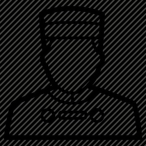 avatar, bellboy, bellhop, chef, hotel, staff icon