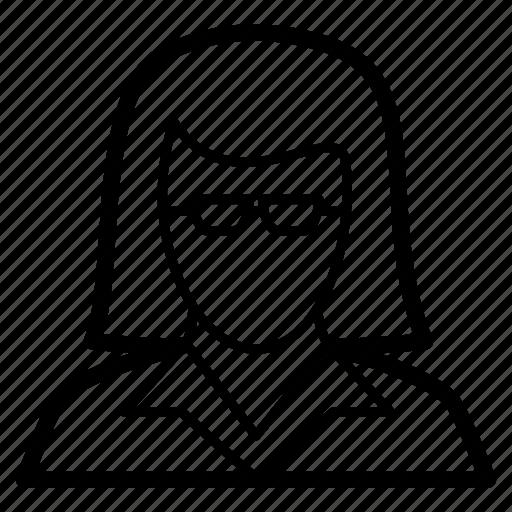 avatar, business, entrepreneur, female, woman icon