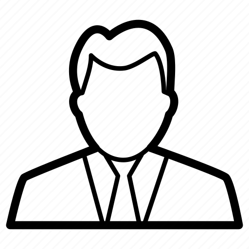 avatar, businessman, director, manager, worker icon