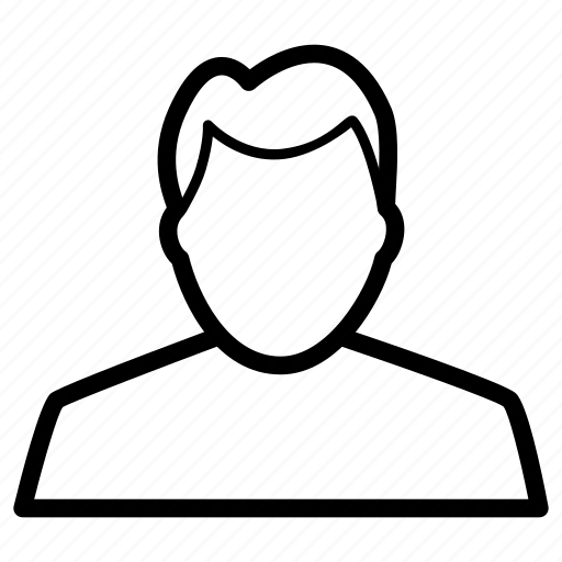 avatar, customer, male, man, prfile, user icon