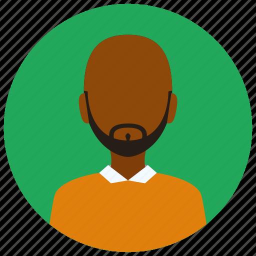 avatar, beard, man, people, user icon