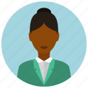 avatar, formal, people, user, woman icon