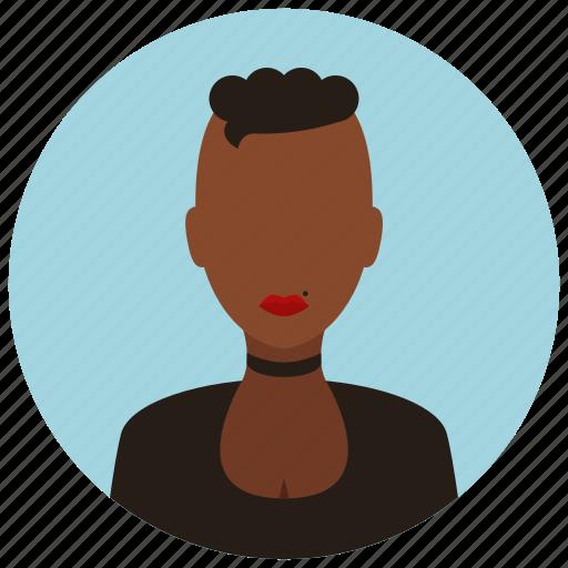 avatar, people, rebel, user, woman icon