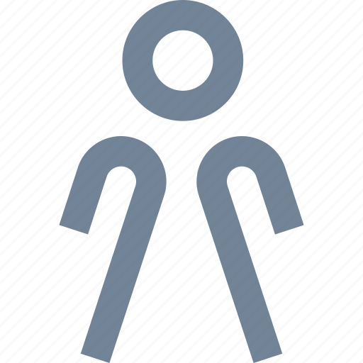 girl, human, lady, line, people, person, standing, toilet, woman icon