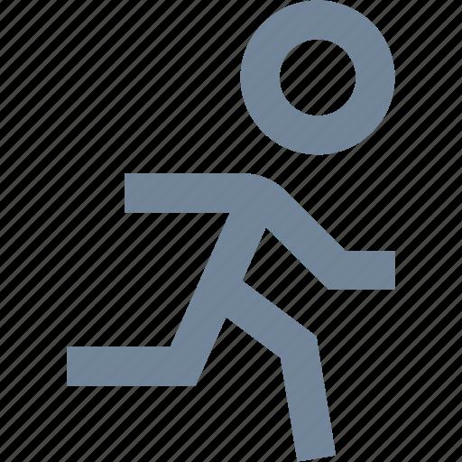 human, line, man, people, run, sports icon