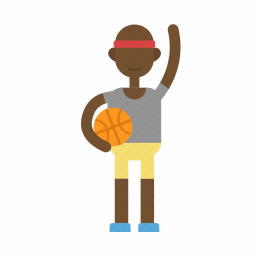 basket, basketball, man, people, sport icon