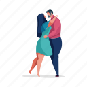 relationships, character, builder, dance, couple, romance, romantic, man, woman