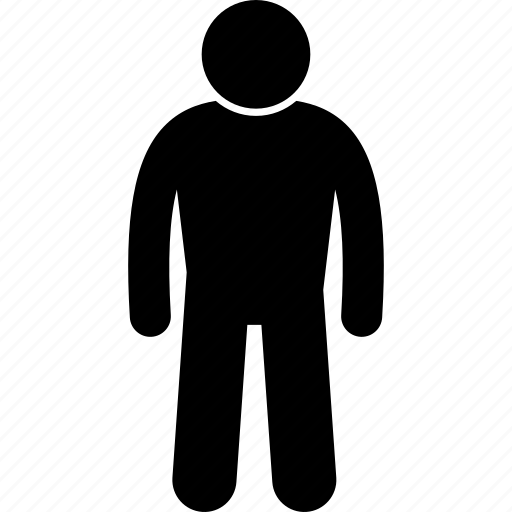 body, bulky, man, person, short, strong icon