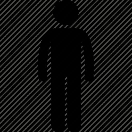average, body, man, normal, person icon