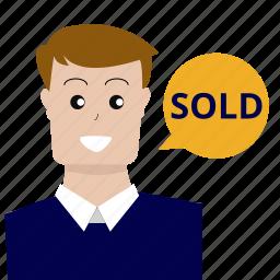 consultant, customer service, marketing, optimization, seo, sold, user icon