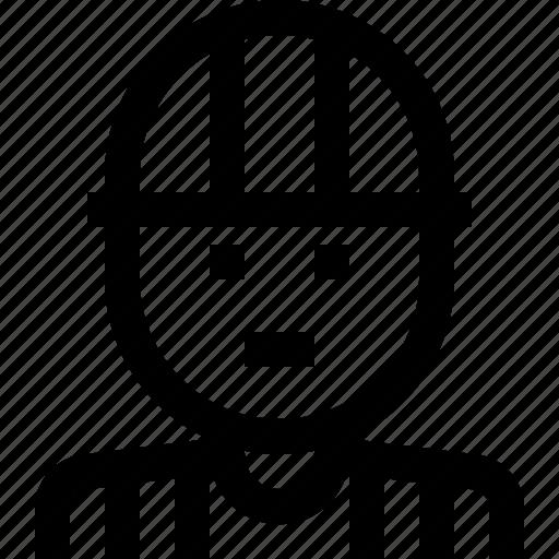 avatar, builder, engineer, worker icon