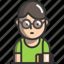 avatar, boy, person, profile, user