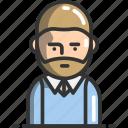 avatar, man, profile, user