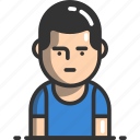 avatar, man, person, profile, user