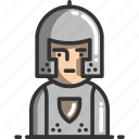 avatar, game, gaming, knight, profile, user