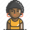 avatar, interface, person, profile, user, woman