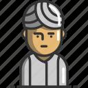 avatar, hindu, profile, user icon