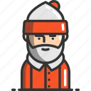 avatar, christmas, claus, profile, santa, user