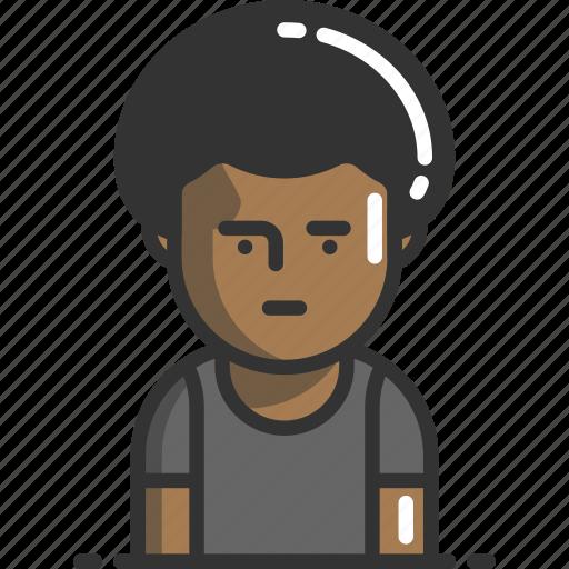 Account, avatar, dreadlocks, profile, user icon - Download on Iconfinder
