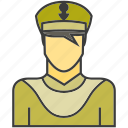 avatar, face, man, people, person, police, profile icon
