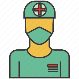 avatar, doctor, face, people, person, physician, profile icon