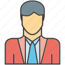 avatar, business man, face, man, people, person, profile icon