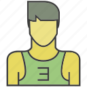 avatar, face, man, people, person, profile, sportman icon