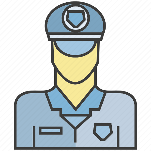 avatar, face, people, person, police, profile icon